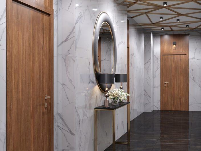 ЖК Данилов дом, холл, Москва