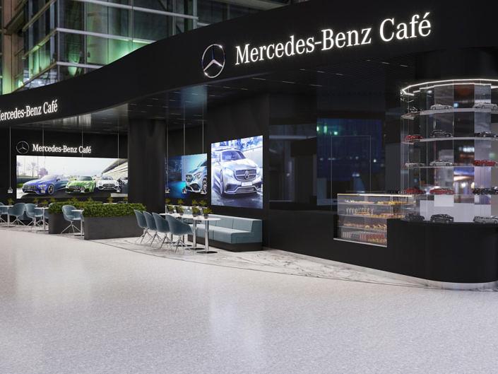 Mercedes-Benz Cafe. Terminal C.