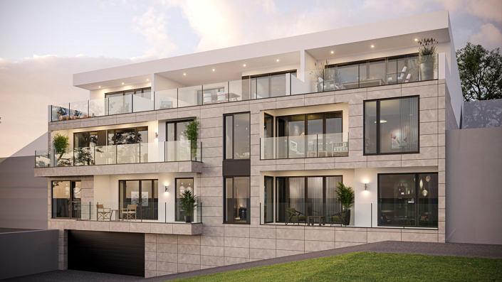 Проект жилого многоквртирного дома в городе Вассенберг, Германия